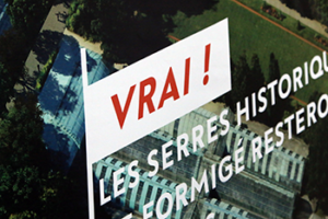 Sign Stating VRAI!